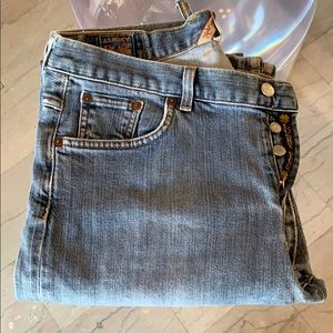 Lucky Brand Jeans size 32x34 made in the USA